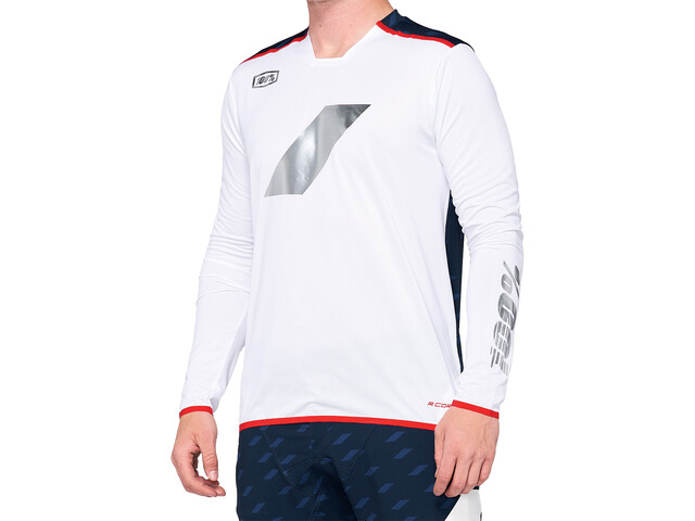 100% R-Core X Limited DH Jersey Men white/navy